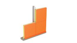 Стеновая трехслойная сэндвич-панель МЕТАЛЛ ПРОФИЛЬ со скрытым креплением SECRET FIX МП ТСП-S